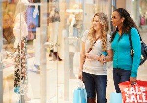 Audience segments: loiterer, looker, shopper, buyer